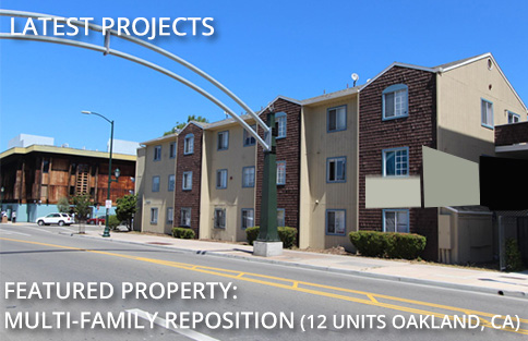 Featured Project: Multi Family Reposition, Vallejo, CA